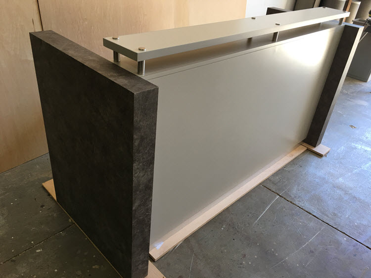Cambridge modern reception desk