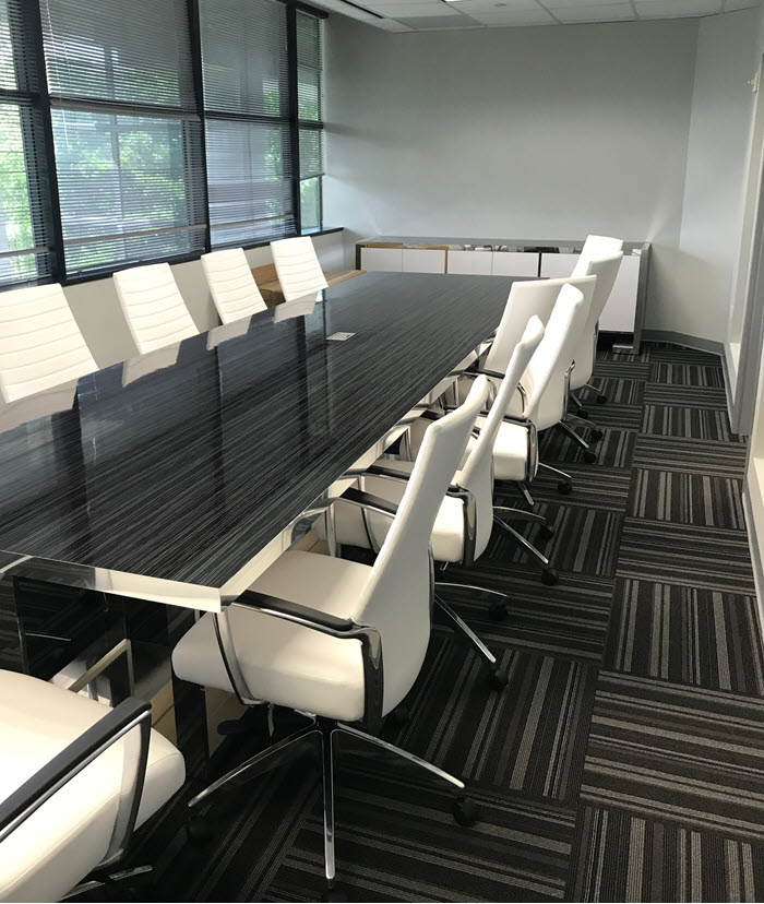 Custom Services custom modern conference table