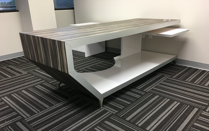 Asti Modern Executive Desk for Custom Services