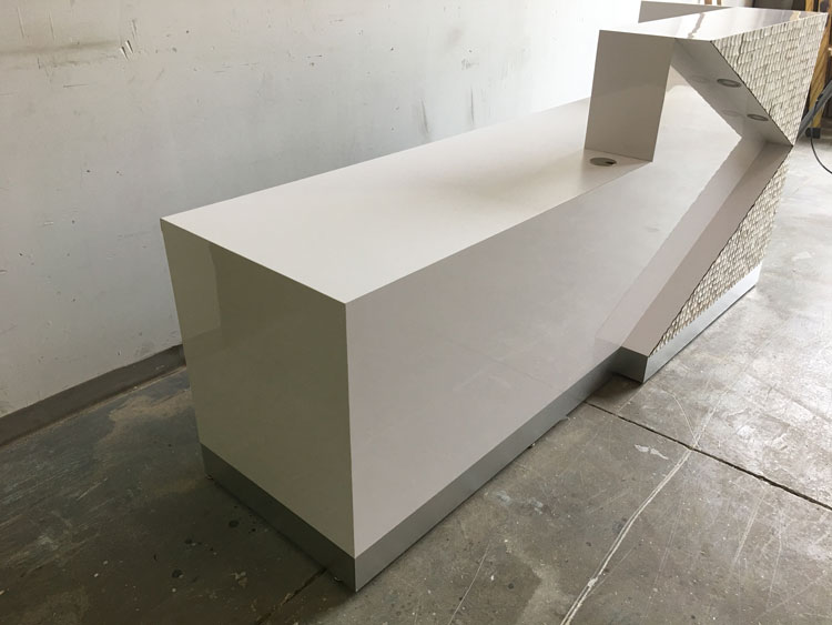 Direct Office Solutions - Hoboken Modern Reception Desk