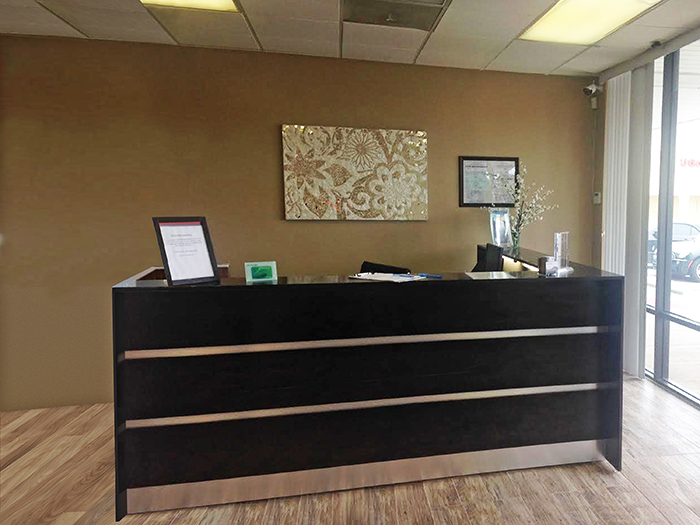 Albany Modern Reception desk
