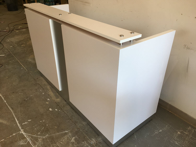 Naples Modern Reception Desk