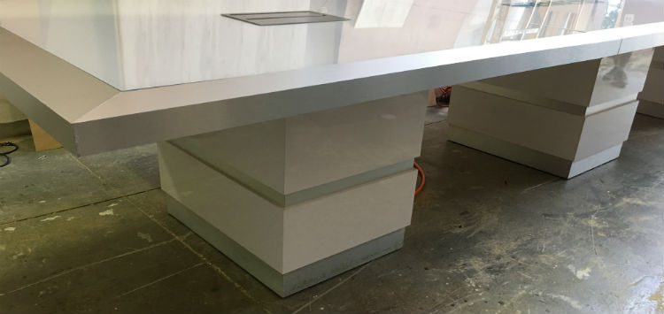 Siemens Custom Modern Room Table - view 6