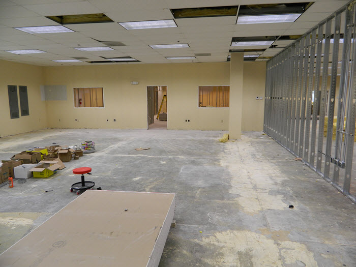 Southeast Frozen Foods Office Design Before picture