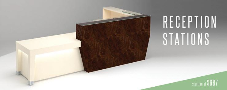 Coral Springs Auto Mall >> Modern Reception Desk | Contemporary Reception Desk | 90 Degree Office Furniture - 90 Degree ...
