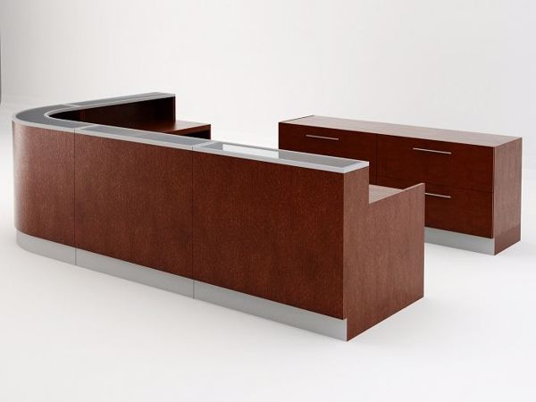 San Francisco Modern Reception Desk