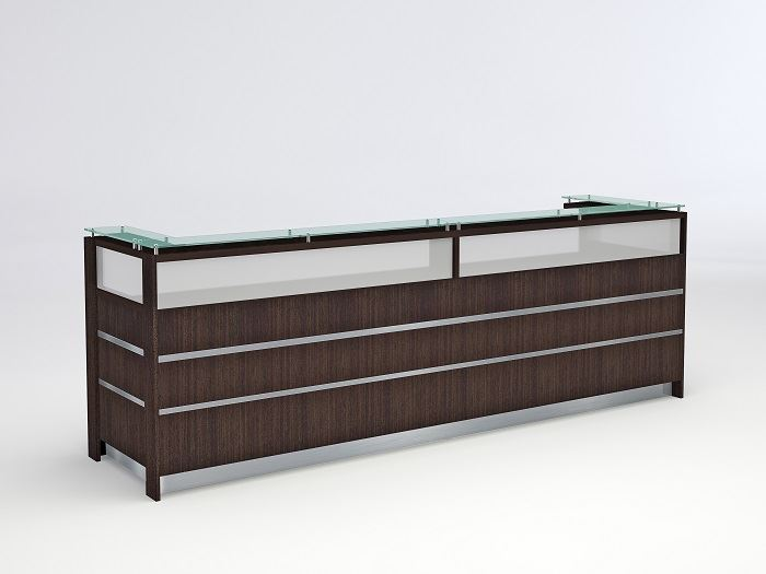 Coral Springs Auto Mall >> 90 Degrees Office: Troy Modern Reception Desk