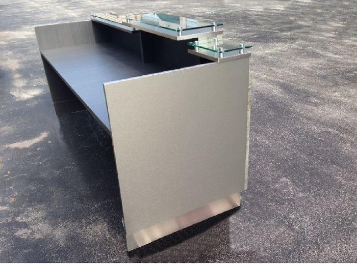 picture of dallas ii modern reception desk