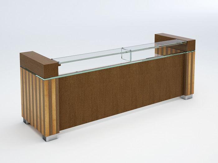 picture of palisades reception desk - Modern Reception Desk