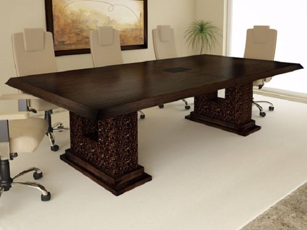 Picture of Bubinga Contemporary Conference Table