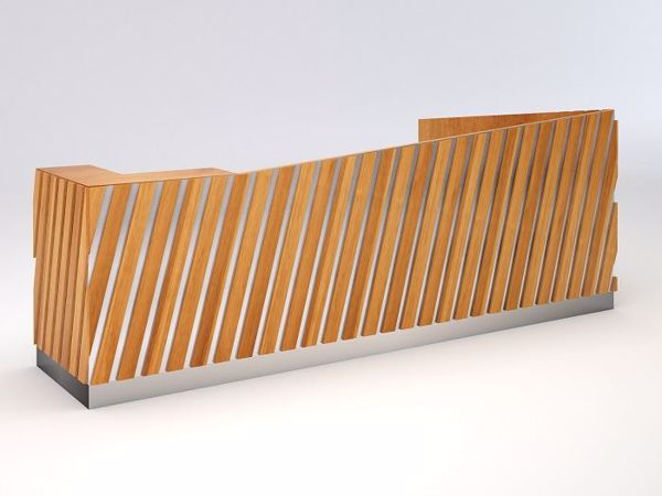 Picture of Fontana Contemporary Reception Desk