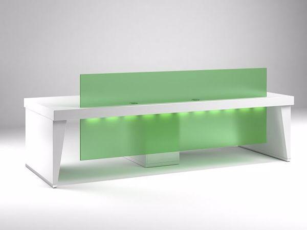 Picture of Doral Modern Reception Desk