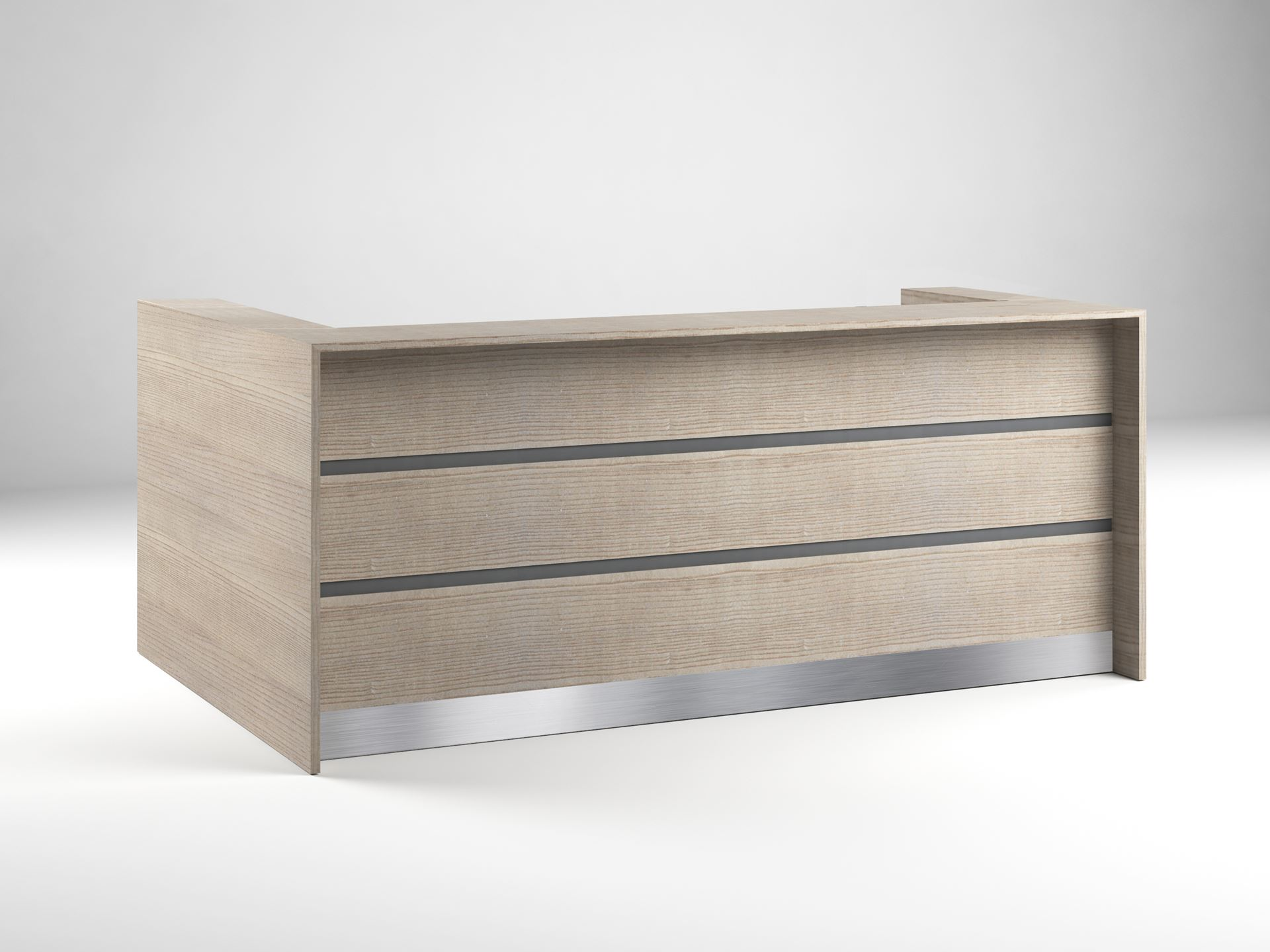 Albany Modern Reception Desk 90 Degrees Office Concepts