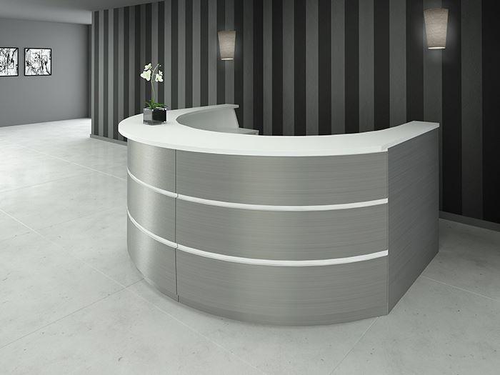 picture of telesto reception desk - Modern Reception Desk