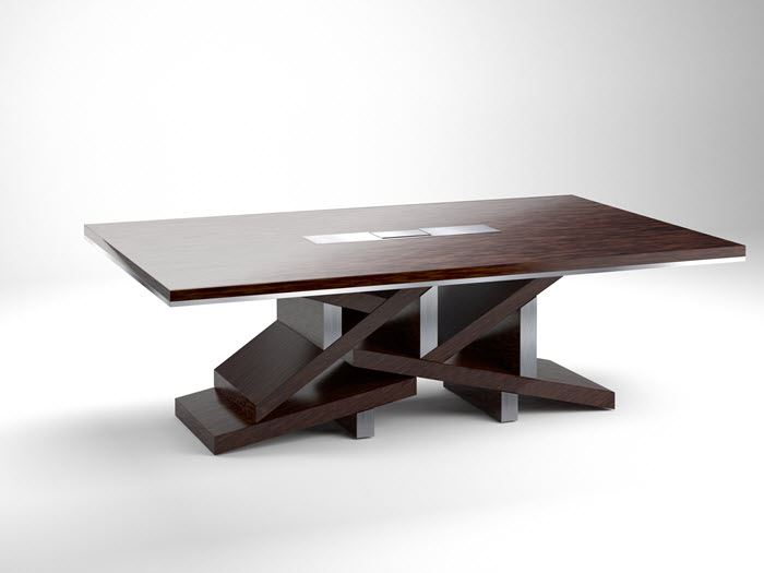 Picture Of Aurora Modern Conference Table ...