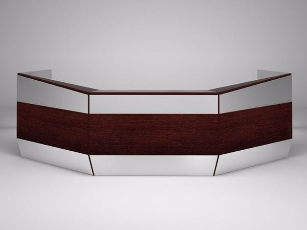 Coral Springs Auto Mall >> Portland Contemporary Reception Desk | 90 Degree Office Concepts