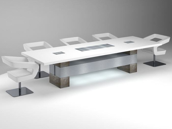 Conference Room Design Steel Table