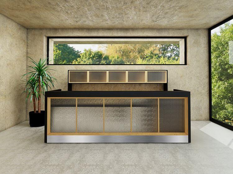 madison reception desk