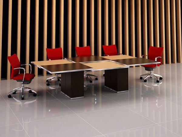 elgin modern conference table