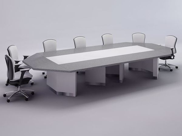 Modesto modern conference room table