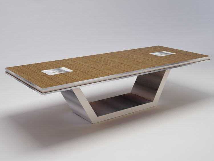 Coral Springs Auto Mall >> Durham Modern Conference Table | 90 Degree Office Concepts ...