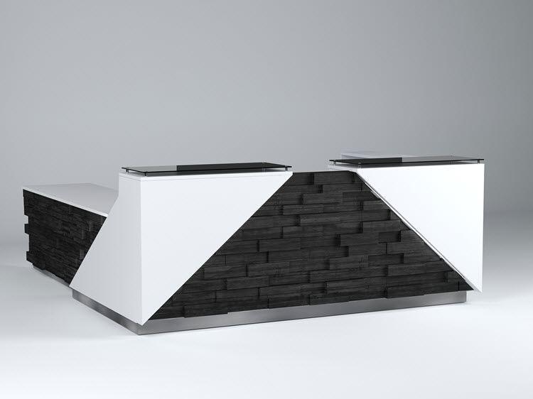 reno modern reception desk