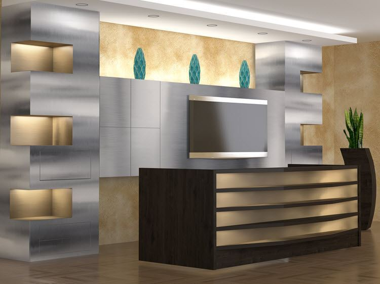 Memphis Modern Reception Desk 90 Degree Office Concepts 90 Degree Office Concepts