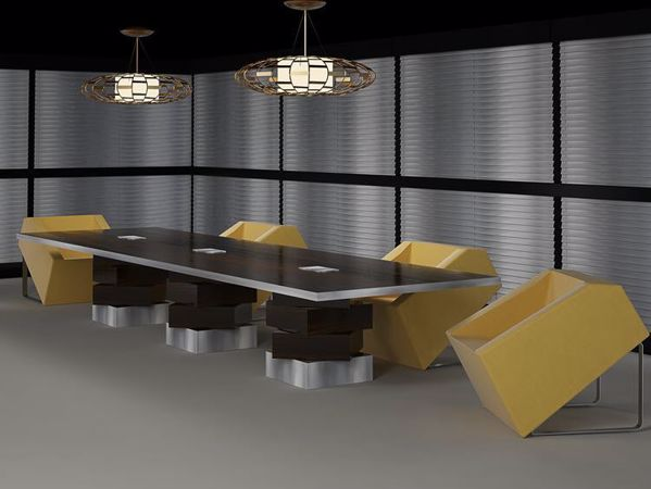 Albuquerque Modern Conference Room Table room scene