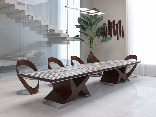 Winston Modern Conference Table room scene