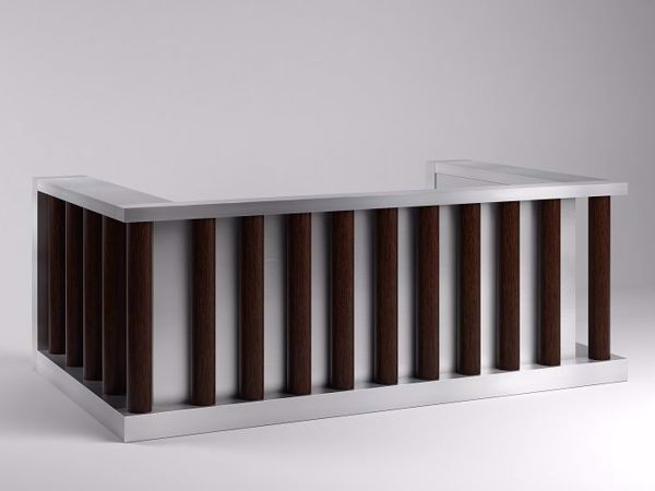 Annapolis contemporary reception desk