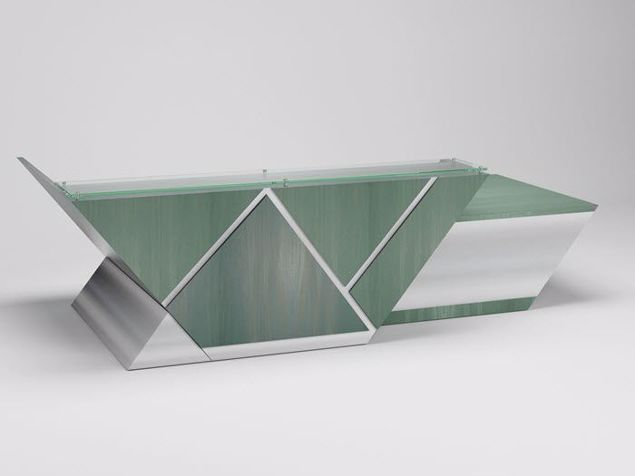 Picture of San Antonio Contemporary Reception Desk