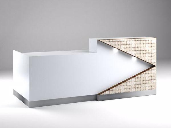 Picture of Hoboken Contemporary Reception Desk