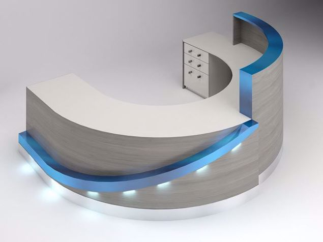 Picture of Alexandria Modern Reception Desk