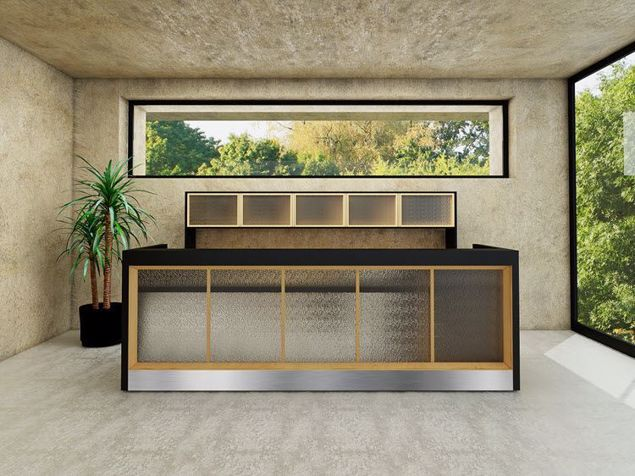 Madison Contemporary Reception Desk