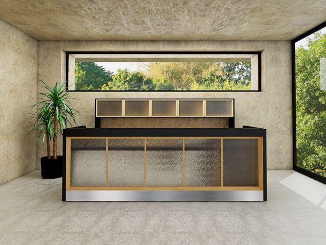 Madison Contemporary Reception Desk