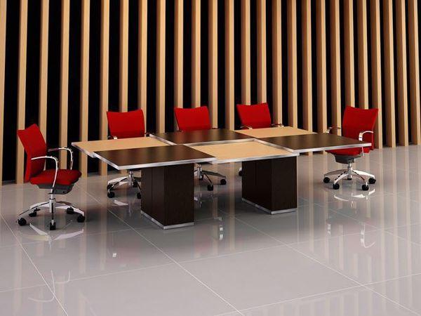 elgin modern conference table