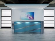 El Paso Modern Reception Desk