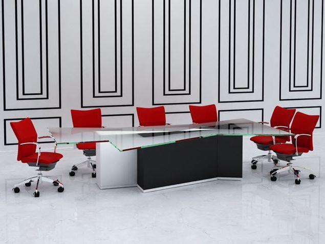 Hudson Modern Conference Table