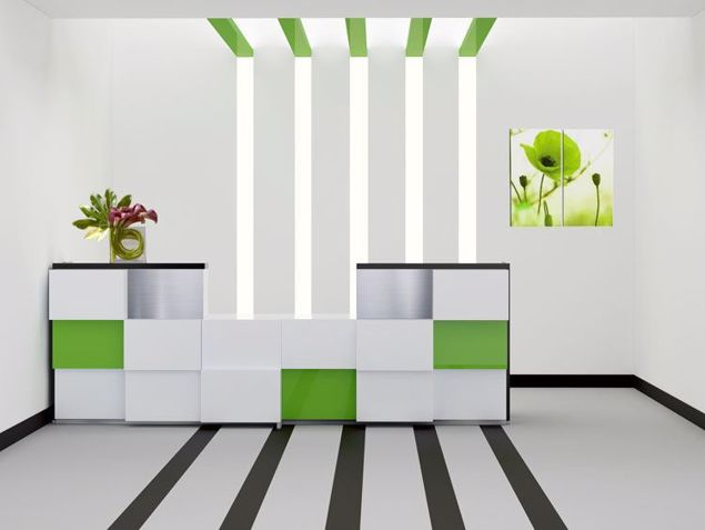 Mesa Modern Reception Desk