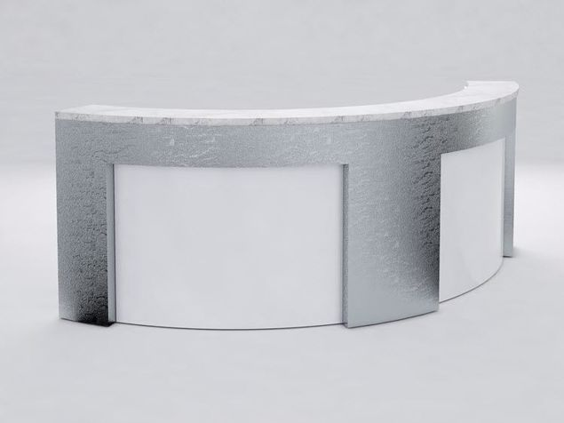 Lincoln Modern Reception Desk
