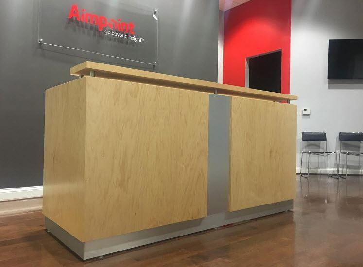 Naples Reception desk AimPoint Research