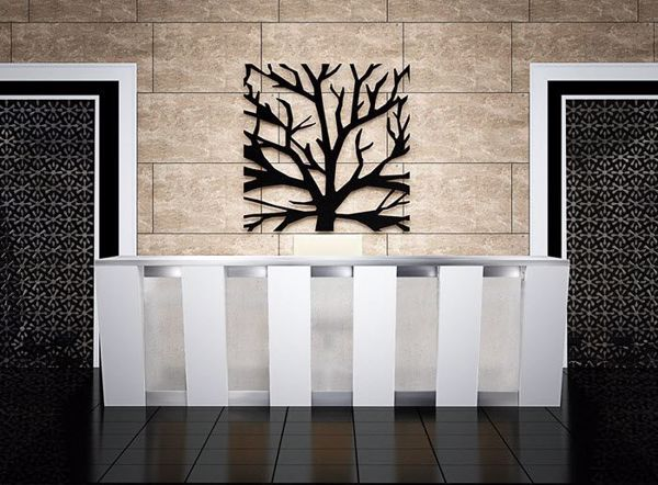 Cypress Modern Reception Desk
