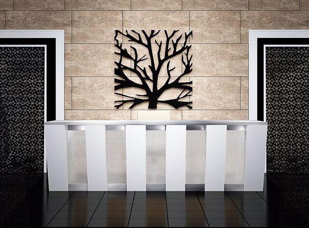 Cypress Modern Reception Desk