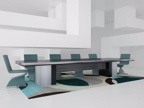 Chandler Modern Reception Desk Scene