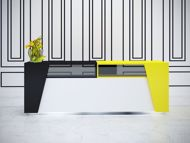 Austin Modern Reception Desk