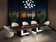 Virginia Modern Conference Table Room Scene