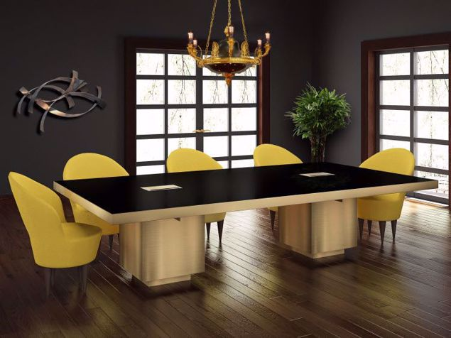 Oregon Modern Conference Table Room Scene