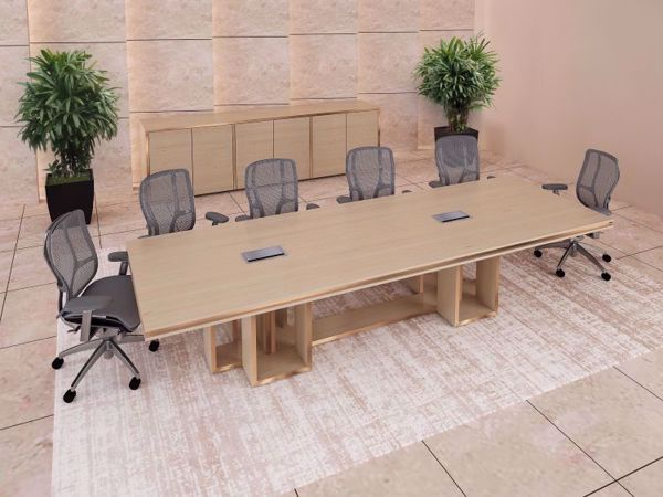 Diego modern conference table room scene