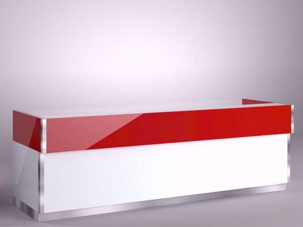 10-FriscoModernReceptionDesk_  RedWhite-108wStraight