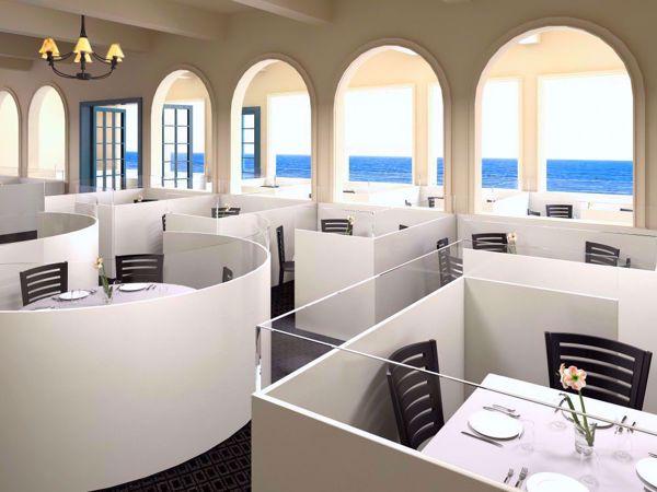 restaurant enclosure room scene